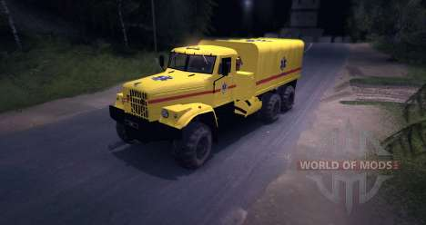 KrAZ MD pour Spin Tires