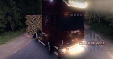 Scania Truck Logger v2.0 pour Spin Tires