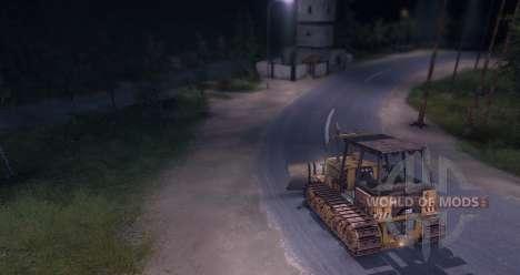 Bulldozer für Spin Tires