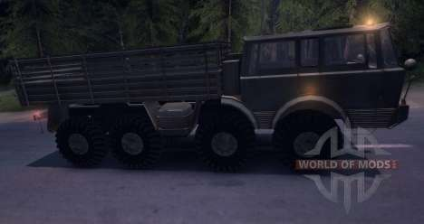 Tatra 813 8x8 für Spin Tires