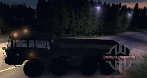 Tatra 813 8 x 8 Final Tschechische Armee für Spin Tires