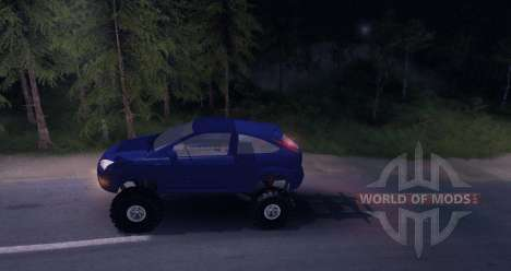 Ford Focus 2 OffRoad pour Spin Tires