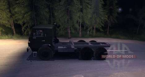 KAMAZ 4310 (version bêta) pour Spin Tires