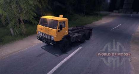 KAMAZ 55102 pour Spin Tires