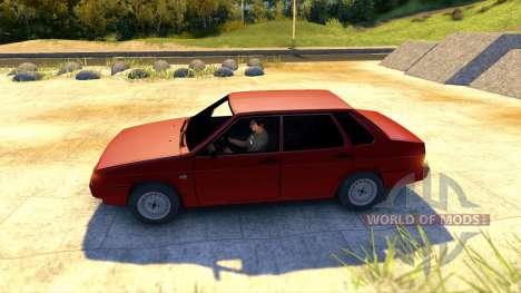 Lada ВАЗ 21099 für Spin Tires