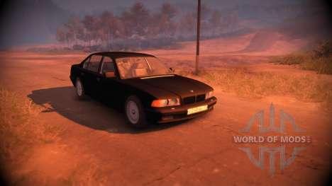 BMW 750Li Shadow Line pour Spin Tires