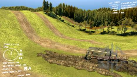 ENB series v 4.0 pour Spintires pour Spin Tires