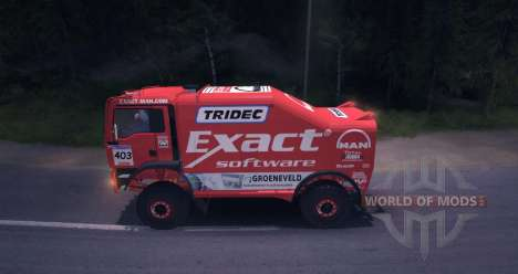 MAN TGA 18.531BB DAKAR pour Spin Tires