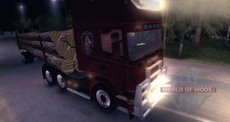 Scania Truck Logger v2.2 pour Spin Tires