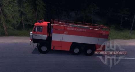 Feu de Tatra 815 pour Spin Tires