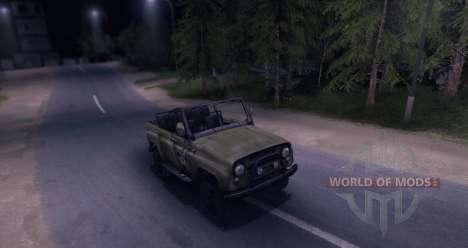 UAZ-469 v1.0 pour Spin Tires