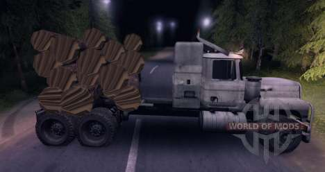 Camion MACK Log pour Spin Tires