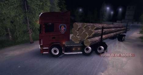 Scania Truck Logger v2.0 für Spin Tires