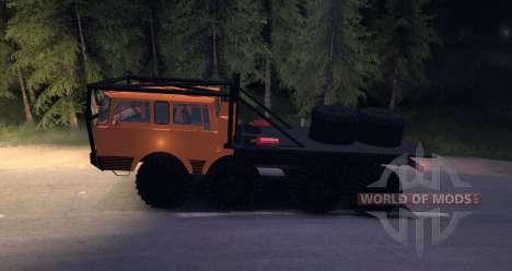 Tatra 813 8x8 TRUCK TRIAL für Spin Tires