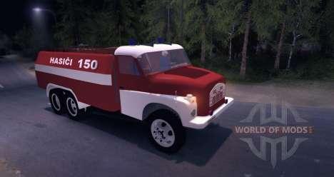Tatra 148 Firetruck für Spin Tires