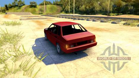 Lada ВАЗ 21099 pour Spin Tires