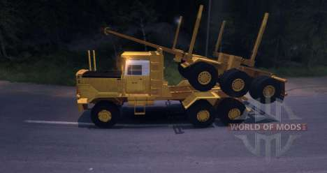 Hayes HQ 142 (HDX) Logging Truck pour Spin Tires