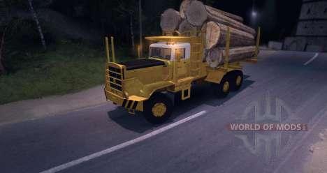 Hayes HQ 142 (HDX) Logging Truck für Spin Tires