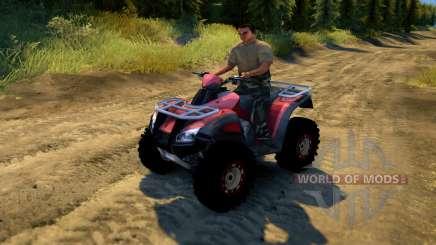 ATV Honda TRX 680 für Spin Tires