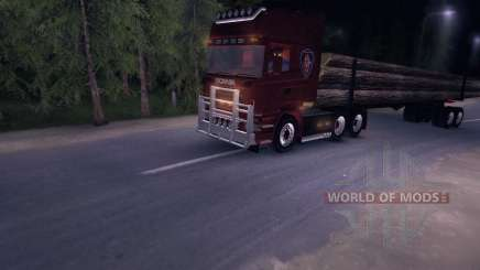 Scania Truck Logger v2.2 pour Spin Tires
