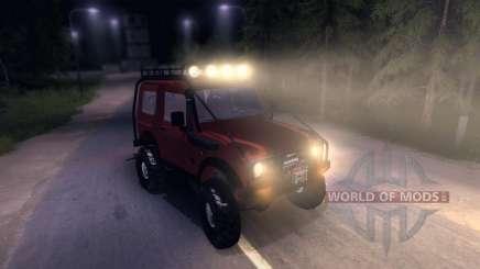 Suzuki Samurai SJ 413 FULL für Spin Tires