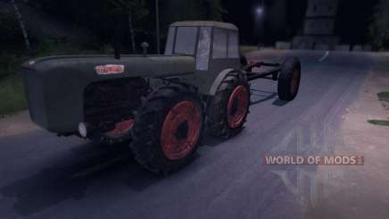 Dutra D4K with Trailer pour Spin Tires