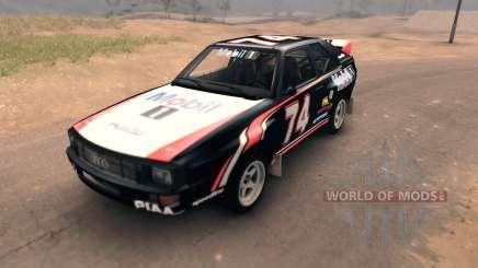 Audi Sport Quattro für Spin Tires