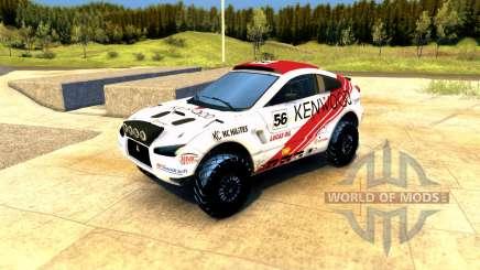 Mitsubishi Lancer Dakar für Spin Tires