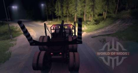 KrAZ 6437 Beta für Spin Tires