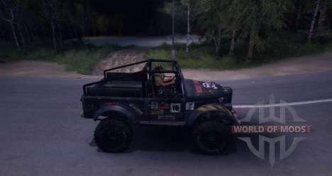 Gaz-69 route édition pour Spin Tires