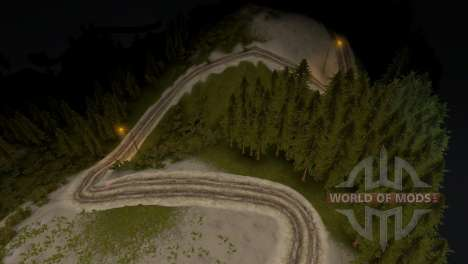 Karte von Wald 3 für Spin Tires