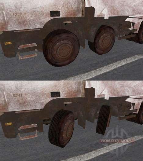 Mercedes-Benz Actros 3241 pour Spin Tires