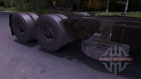 KAMAZ-54101 pour Spin Tires