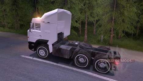 KAMAZ-6460 weiß für Spin Tires