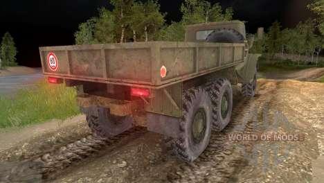 Ural-4320 pour Spin Tires