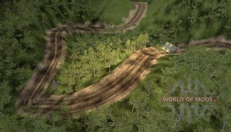 Karte von der Straße in den Himmel für Spin Tires