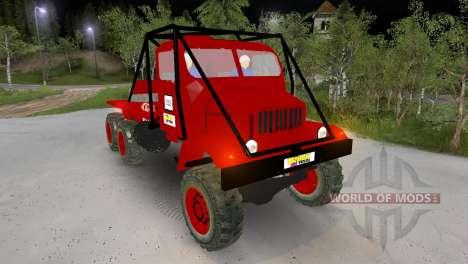 Praga V3S Truck Trial pour Spin Tires