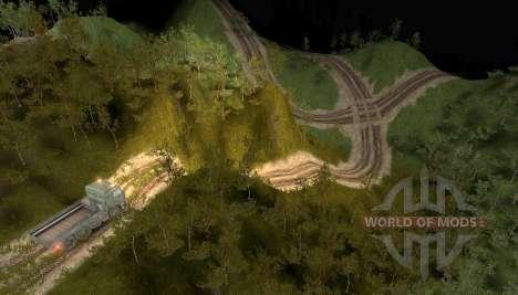 Carte des collines pour Spin Tires