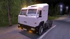 KAMAZ-6460 blanc