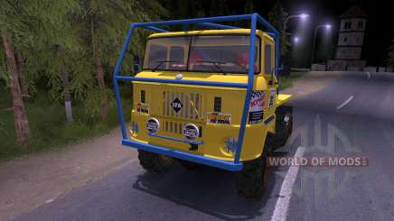 IFA W50 Truck Trial pour Spin Tires