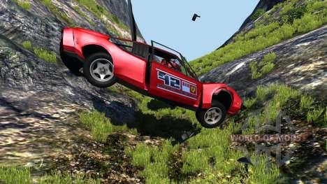 Civetta Bolide Ferrari Red pour BeamNG Drive
