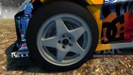 Ford Fiesta für BeamNG Drive