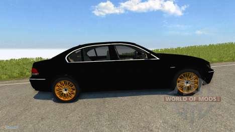 BMW 760Li E66 pour BeamNG Drive