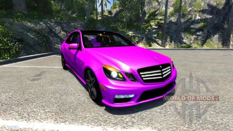 Mercedes-Benz E63 pour BeamNG Drive