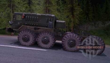 MAZ-535 pour Spin Tires