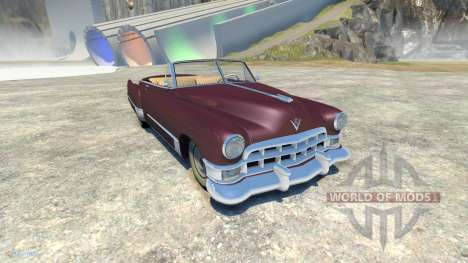 Cadillac Series 62 Convertible 1949 für BeamNG Drive