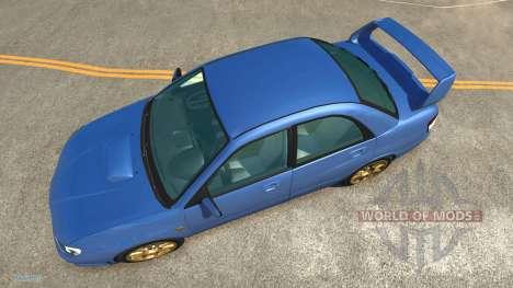 Subaru Impreza WRX STI für BeamNG Drive