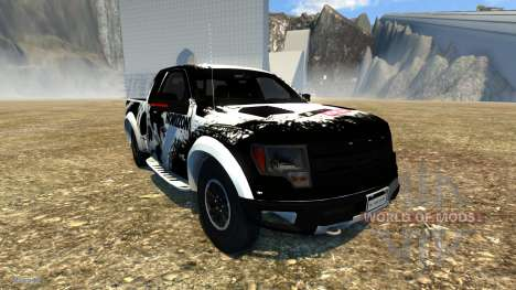 Ford F-150 SVT Raptor pour BeamNG Drive