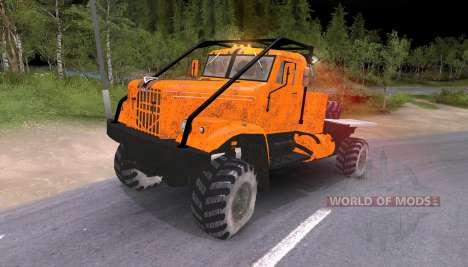 Camions Pak et KrAZ pour Spin Tires