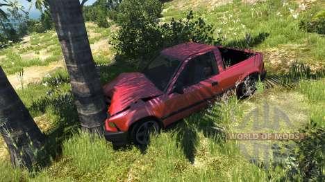 Ibishu Pickup pour BeamNG Drive